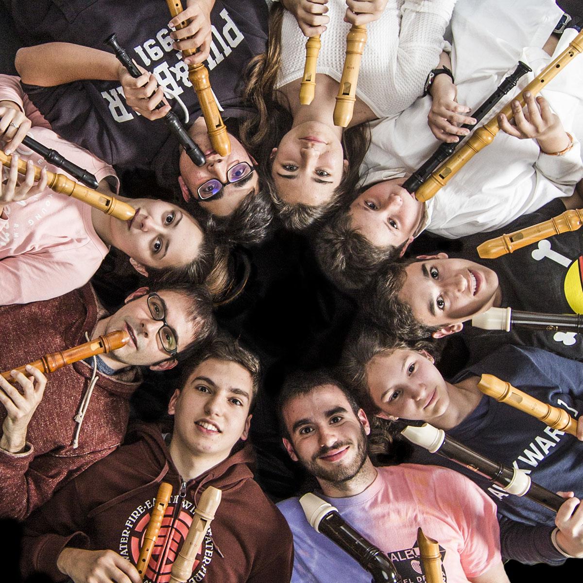 Orquestra de flautes de bec