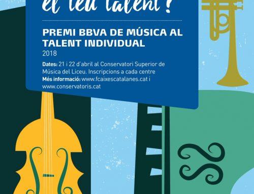 Premi als joves talents BBVA