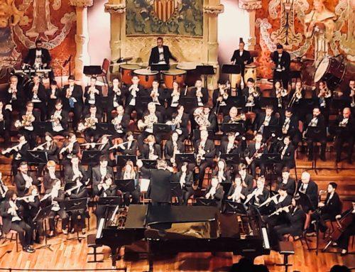La Banda Simfónica al Palau de la Música
