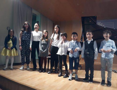 Concert de cloenda de piano de nivell elemental