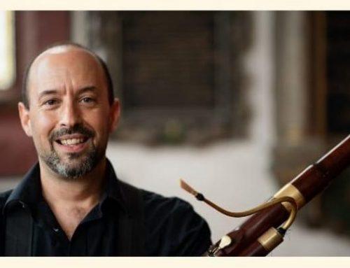CARLES CRISTOBAL, nou professor de Fagots Històrics a l'Schola Cantorum Basiliensis